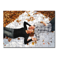 Puzzle A5 personalizat din carton - 48 piese