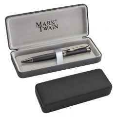 Pix metalic Mark Twain personalizat  in cutie neagra