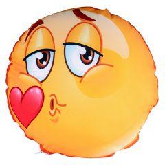 Perna rotunda personalizata Smiley Kiss
