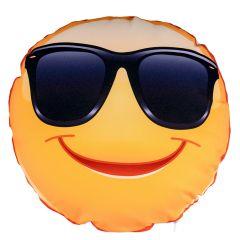 Perna rotunda personalizata Smiley Cool
