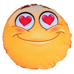 Perna rotunda personalizata Smiley Love