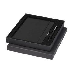 Set Falsetto cu pix si notes personalizat in cutie neagra