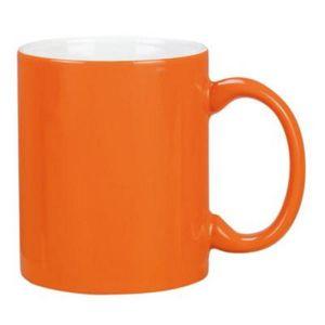 Cana termosensibila portocalie personalizata